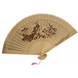 Phoenix Wooden Fan, H:  230 x W: 420mm Phoenix Wooden Fan H  230 x W 420mm Please Click the image for more information.