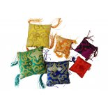 Pillow with tassel (for singing bowls) Pillow with tassel for singing bowls square shape with tassels various colours 100mm Please Click the image for more information.