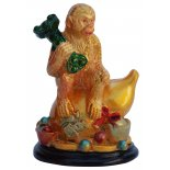 Monkey holding Ruyi Statue, Gold Monkey holding Ruyi Statue Gold H  80mm x W  55mm Please Click the image for more information.