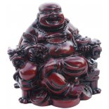 Laughing Buddha sitting on chair, Rosewood Brown Laughing Buddha sitting on chair Rosewood Brown H 70 x W 75 x D 65mm Please Click the image for more information.