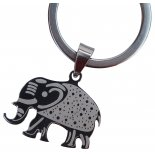 Elephant Keyring, H:60 x  W:  30mm Elephant Keyring H60 x  W  30mm Please Click the image for more information.