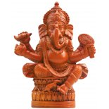 Ganesha Statue,Tan Brown Ganesha StatueTan Brown H  105 x W 80 x D 80mm Please Click the image for more information.