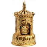 Musical Prayer Wheel, Gold, Battery and power operated, H:  120 x W:  70mm Musical Prayer Wheel Gold Battery and power operated H  120 x W  70mm Please Click the image for more information.