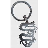 Dragon Shaped Keyring, Silver Dragon Shaped Keyring Silver H  75 x W  30mm Please Click the image for more information.