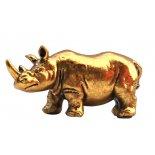 Rhinoceros Statue, Gold H: 40 x W: 90 x D: 35mm Rhinoceros Statue Gold H 40 x W 90 x D 35mm Please Click the image for more information.