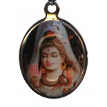 Shiva (Bust) Keyring Shiva Keyring Coloured Graphic H  70 x W  33mm Please Click the image for more information.
