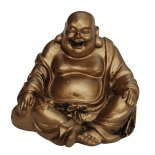 Laughing Buddha Statue, Sitting, Antique Gold, H: 30 x W:  35 x D:  30mm Laughing Buddha Statue Sitting Antique Gold H 30 x W  35 x D  30mm Please Click the image for more information.