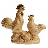Rooster and Hen, Ceramic Shiny Gold Statue, H:215 x W260 x D:85mm Rooster and Hen Ceramic Shiny Gold Statue H215 x W260 x D85mm Please Click the image for more information.