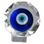 Blue Eye Crystal on Stand, H: 45 x W: 45 x D:  45mm Blue Eye Crystal on Stand H 45 x W 45 x D  45mm Please Click the image for more information.
