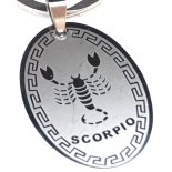 Scorpio Silver Keyring, H75 x W30 x D3mm Scorpio Silver Keyring H75 x W30 x D3mm Please Click the image for more information.