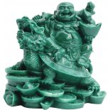 Laughing Buddha sitting on Money Turtle Statue, Jade, H120 x W120 x D95mm Laughing Buddha sitting on Money Turtle Statue Jade H120 x W120 x D95mmThe laughing Buddha travelling on the great dragon headed tortoise  This. Please Click the image for more information.