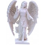 Raphael Archangel Statue, Antique Ivory, 200mm Archangel Raphael Healing  statue Archangel Raphael whose name means  God heals is charged with healing the earth and humankind Raph. Please Click the image for more information.