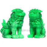 Fu Dog Statues Pair Pair of Fu Dogs for protection Please Click the image for more information.