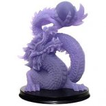 Dragon Statue Frosted Purple on Black Stand 165mm The Dragon for Protection and Great Kindness Please Click the image for more information.
