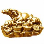 Cow Wishing Statue Gold 60mm Wish fulfilling Cow statuethe cow represents wealth to many of the worlds cultures It provides much in the way of wealth Us. Please Click the image for more information.