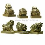 Three Protectors are the Ki-lin, Dragon and Pi Yao.  The Three Protectors are the Kilin Dragon and Pi Yao figurinesUsed in Feng Shui Please Click the image for more information.