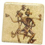 Citipati fridge magnet Citipati Fridge Magnet CITIPATIBuddhismTwo skeletons dance the Tsam dance which is symbolic of the cycle of life and death. Please Click the image for more information.