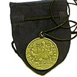 Longevity Pendant with Pouch Health and Longevity  pendent on black cord with pouch Can be worn or hung in appropriate area Comes with a story N. Please Click the image for more information.