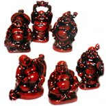 Box of 6 Standing Laughing Buddha Statues Brown 57mm Box of 6 Standing Laughing Buddha Statues   Please Click the image for more information.