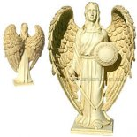 Michael Archangel Statue, Antique Ivory, 200mm Archangel Michael statue As heavens greatest defender and mightiest warrior against evil Michael meaning Who is like God is considered by Judaism Christianity and Islam to be the greatest of all the Archangels  . Please Click the image for more information.