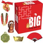 Not So Big Feng Shui Kit  Not So Big Feng Shui Kit contains tiny brass flutes brochure ingot tiny red fan tiny buddha bagwa  3 tiny coins tied with red cordAnothe. Please Click the image for more information.