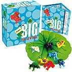 Not So Big Frogs Kit  Tiny box of 8 glass frogs wrapped in separat little pods Lily leaf and story written in first person by frog. Please Click the image for more information.