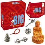 Not So Big Buddha Box  Not So Big Buddha Box contains buddha dorje prayer wheel mala beads bell  treasure chest All in tiny size each one works Comes . Please Click the image for more information.