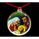 Holy Family Round Coloured Pendant on Red Cord, Pack of 5 Holy Family Round Coloured Pendant on Red Cord Pack of 5 Please Click the image for more information.