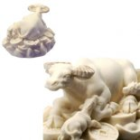 Wish Granting Cow Wish Granting Cow white and gold finishThe cow is a symbol of  life in many cultures it gives milk and symbolises the maternal earth  In E. Please Click the image for more information.