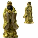 Confucius statue gold Please Click the image for more information.