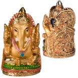Small Gold Ganesh Small handpainted golden Ganesh Please Click the image for more information.