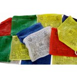 windhorse prayer flags Tibetan prayer flags Windhorse 20 flags in one string each one approx 115mm x 115mm high quality  45 x . Please Click the image for more information.