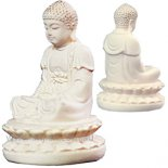 Meditating Buddha statue small meditating Buddha statue in ivory finish Please Click the image for more information.