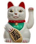 Waving Cats Symbolising Wealth this figurine does not come supplied with battery Please Click the image for more information.