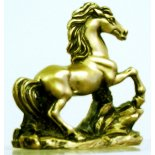 Golden Horse Golden horse statue Symbolises success and good luck Please Click the image for more information.