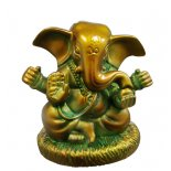 Ganesh statue-figurine Large ears Ganesha statue with 4 armsmade from marble and resin Antique bronze finishProsperity Success Safety Remover of Obstacles The Elepha. Please Click the image for more information.