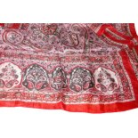 Pink paisley silk scarf This soft as a breeze pink paisley silk scarf is made in IndiaIt is so fine and soft you can hardly feel it between your fingersCom. Please Click the image for more information.