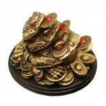 Brass finish Three Frogs Statue Brass finish Three Frogs Statue Used in Feng Shui to represent familyThree Money FrogsProsperity and Good FortuneThe three legged Money Frog is also known as the Moon Frog It is. Please Click the image for more information.