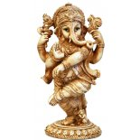 Dancing Ganesha Statue, Ivory/Cream Dancing Ganesha StatueKnown as the Lord of Obstacles Ganesha is one of the most popular Hindu deities Am. Please Click the image for more information.