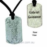 "Archangel Gabriel ""Guidance"" Silver Pendant on Black Cord Archangel Gabriel Guidance Silver Pendant on Black Cord Humanity Birth and Dreams Archangel Gabriel means God is my Strength  Archangel . Please Click the image for more information."
