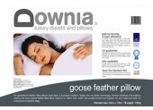 Downia Goose Feather European Pillow For generations feather filled pillows have been a European tradition Downia continues this tradition making this goose feather filled pillow encased in a soft cotton twill fabric . Please Click the image for more information.