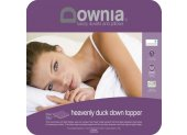 Downia Heavenly Duck Down Mattress Topper A luxuriously soft bed topper using a unique twin layer system with a top layer of 80  Duck Down  20 Feathers and a bottom Layer of 5 Duck Down  95 Feathers The bot. Please Click the image for more information.
