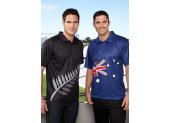New Zealand Polo Shirt BIZ COOL 100 Breathable Polyester Mesh KnitSublimated polo with matching self fabric collar160 GSMModern Fit Please Click the image for more information.