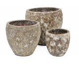 Lunar Urn Pot  The Lunar Urn is a smaller set of 3 sizes that is extremely popular This Garden Pot is a great pot for smaller balconies and courtyards . Please Click the image for more information.