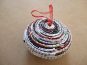 Recycled Paper Xmas Decoration  Please Click the image for more information.