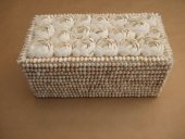 Large Shell Encrusted Box  Please Click the image for more information.