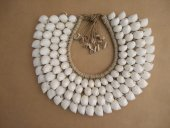 Tribal Shell Necklace(White)  Please Click the image for more information.