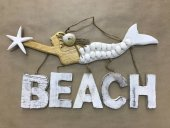 Mermaid With Beach Letters  Please Click the image for more information.