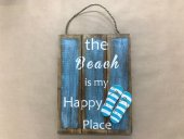 Beach Is My Happy Place Sign  Please Click the image for more information.