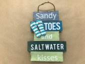 Sandy Toes Blocks Sign  Please Click the image for more information.